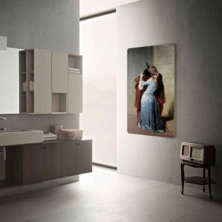 Termoarredo elektrický moderní design přizpůsobené s fotografiemi Jonny