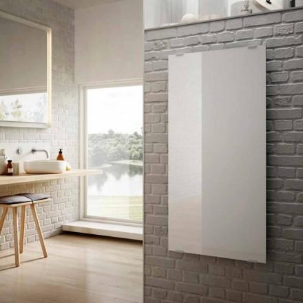 Elektrické radiátory v designu bílé sklo hvězdy, vyrobený v Itálii
