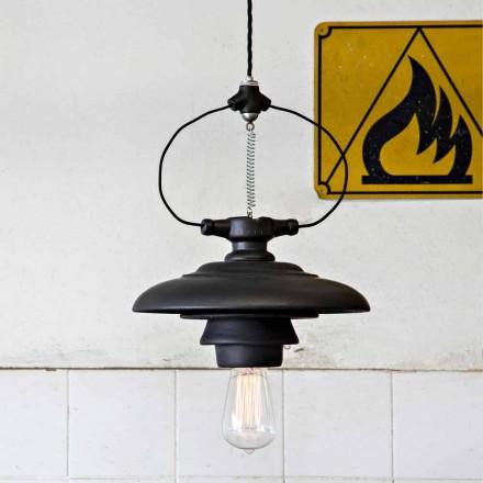 TOSCOT Battersea závěsná lampa keramická konstrukce
