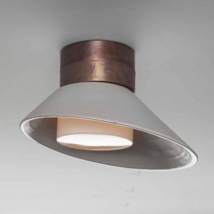 TOSCOT Chapeau! Lamp zeď / strop vyrobený v Toskánsku