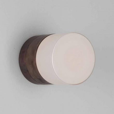 Toscot Chapeau! Ručně vyráběná nástěnná / stropní lampa vyrobená v Toskánsku