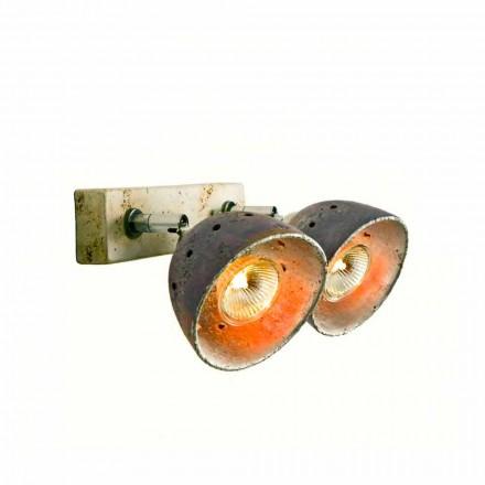 TOSCOT Noceto reglette dvou směrových světel vyrobené v Toskánsku