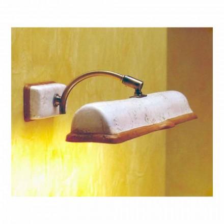 TOSCOT Vinci nášivka 2 přímé osvětlení vyrobené v Toskánsku