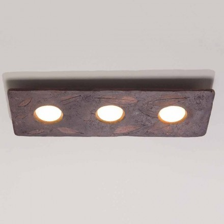 Toscot Vivaldi designérské terakotové nástěnné svítidlo vyrobené v Itálii