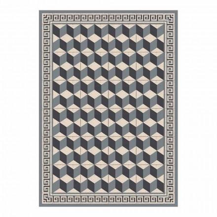 Americký design prostírání v PVC a polyesteru, 6 kusů - Romio
