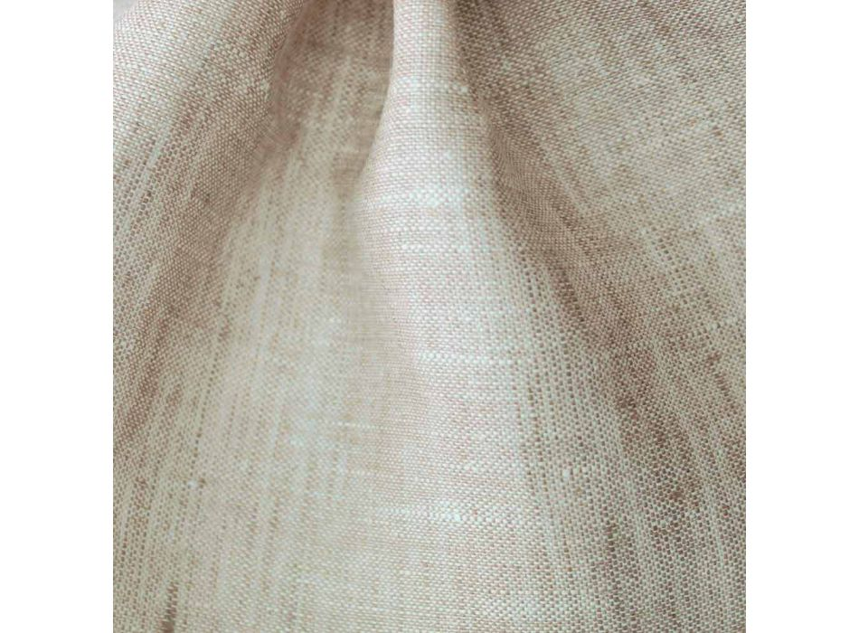 Americký prostírání v čistě bílém nebo přírodním plátně vyrobené v Itálii - Chiana