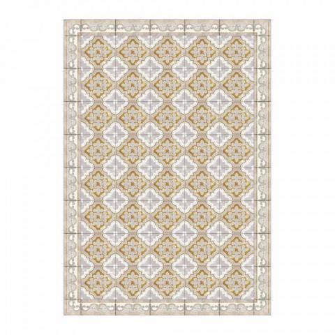 Americký prostírání v Pvc a moderním barevném polyesteru, 6 kusů - Dorado