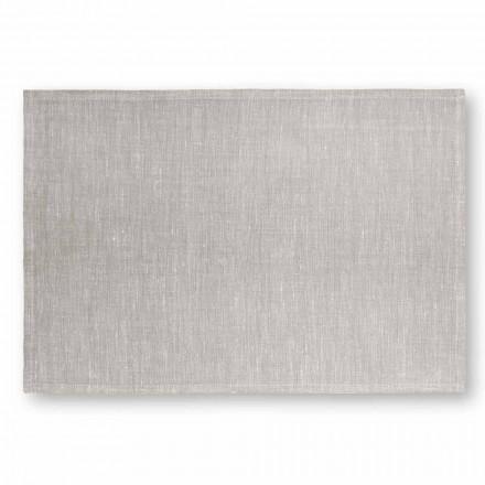 Prostírání v krémově bílém nebo přírodním plátně vyrobené v Itálii, 2 kusy - Blessy