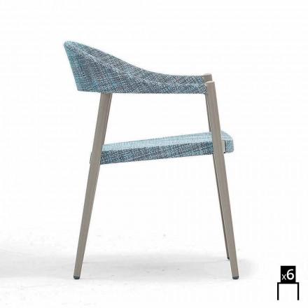 Varaschin Clever židle moderního designu zahrady, 6 ks