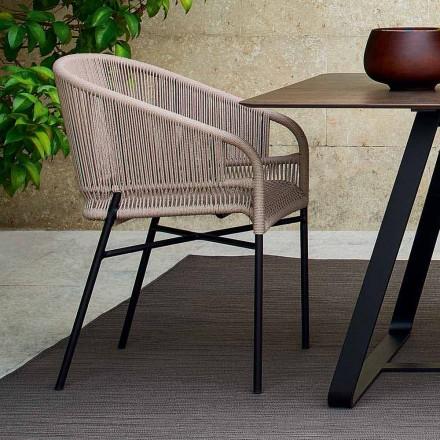 Varaschin Cricket židle s ručně tkaný vnější, 2 ks