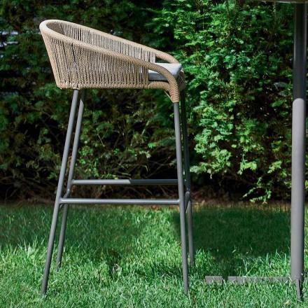 Varaschin Cricket stolička moderní zahradní hliník, 2 ks