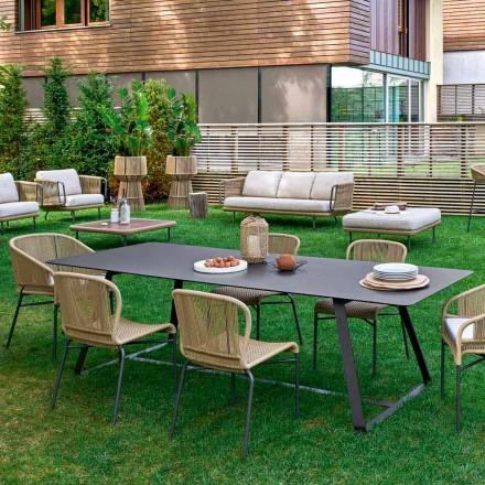Varaschin Kolonaki Tabulka moderní zahrady v různých velikostech