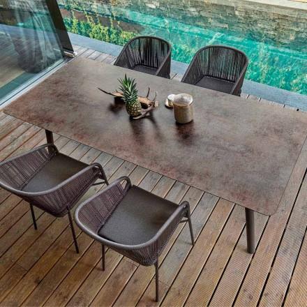Varaschin Link Pevný jídelní stůl z vnější nebo vnitřní H 65 cm