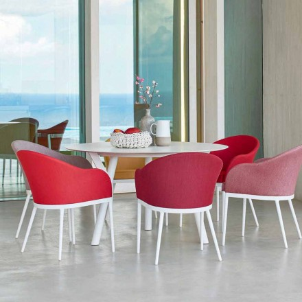 Varaschin odkazy Kulatý stůl moderní design zahrady, H 75 cm