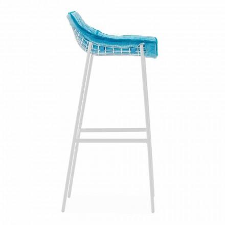 Varaschin Summer Venkovní stolička z oceli a tkaniny