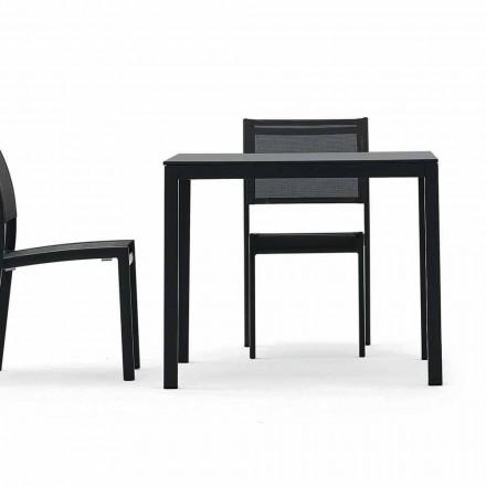 Varaschin Victor stůl pro vnitřní a zahradní stolování, moderní design