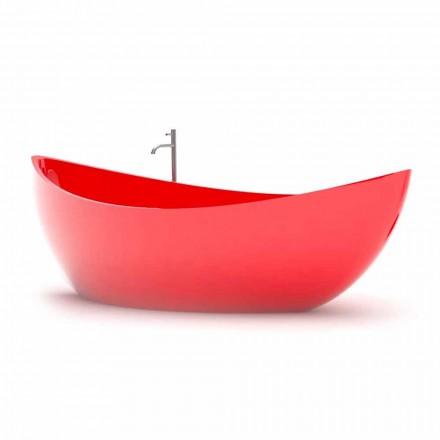 Vana v pevné povrchové koupelně Funamori Vyrobeno v Itálii