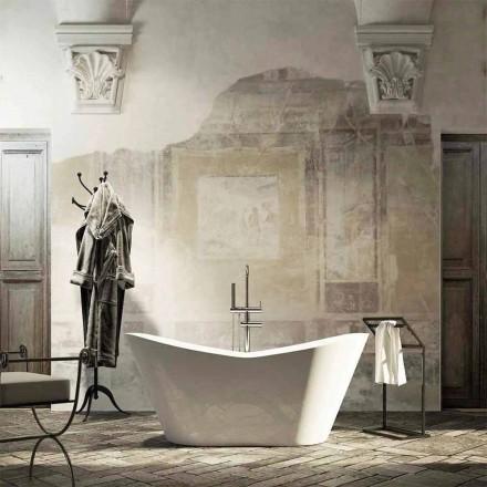 Moderní design volně stojící vana vyrobená 100% v Itálii Ragusa