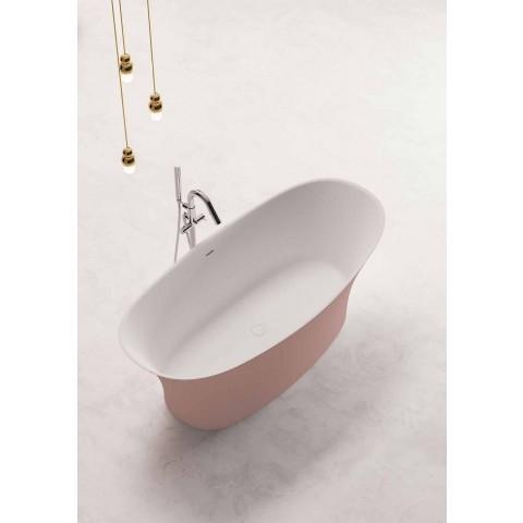 Volně stojící dvoubarevná vana, pevný povrchový design - Podívejte se