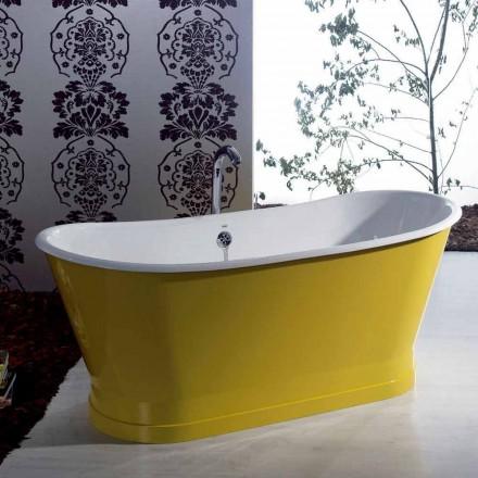 Bath barevné litinový volně stojící moderní designový Betty