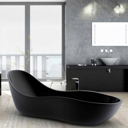 Lakovaná volně stojící vana, moderní design, Wave