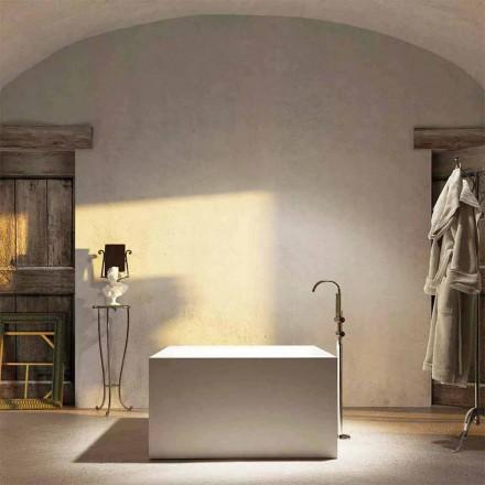 Volně stojící čtvercová vana Argentera, vyrobená v Itálii 100%