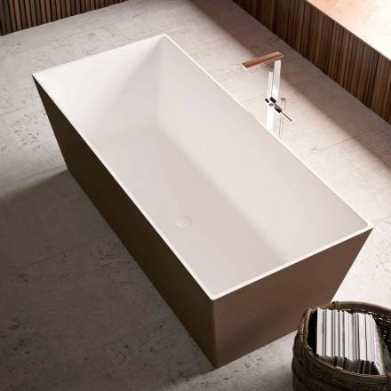 Volně stojící vana, vnější Bicolor Shiny nebo Matt - Filo