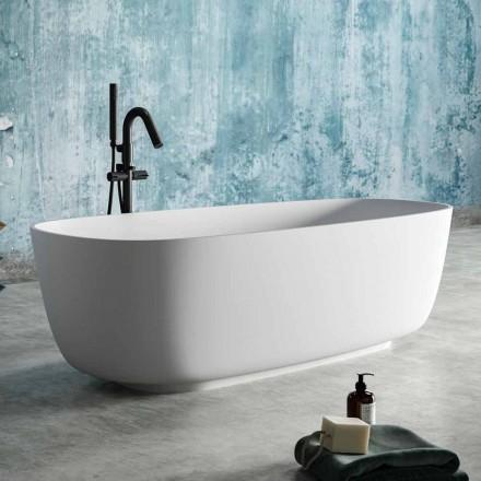 Moderní design Volně stojící vana v pevném povrchu - Canos