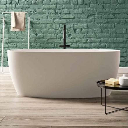 Volně stojící vana, design v pevném povrchu lesklý / Matt - Velo