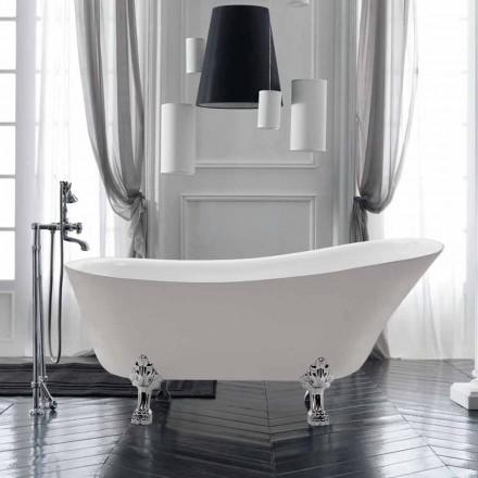 Volně stojící konstrukce koupel v bílé akrylové Letní 1700x720 mm