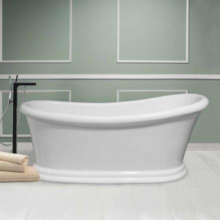 Vana bílá moderní volně stojící Akrylát Winter 1710x730 mm