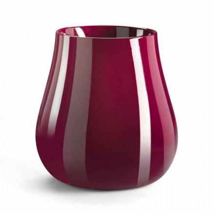 Dekorativní váza ve tvaru kapky z polyethylenu vyrobená v Itálii - Monita