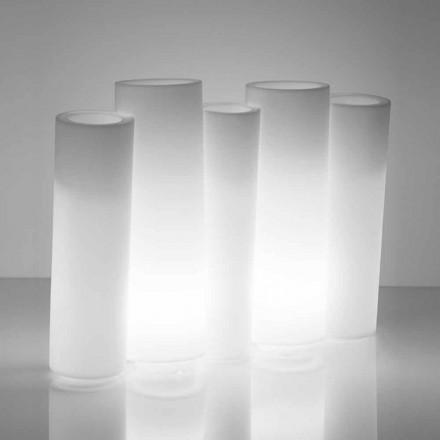 Jasná dekorativní váza venku / uvnitř Slide Bamboo vyrobená v Itálii