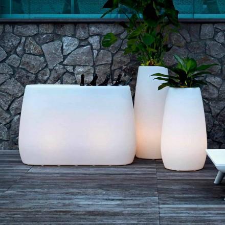 Váza na květináče ze světelného plastu, design ve 3 velikostech - Pandora od Myyour