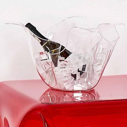 Váza vnitřní / vnější multifunkční transparentní Pina, moderní design
