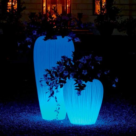 Světelná váza moderního designu s indukční baterií RGBW - Skin od Myyour