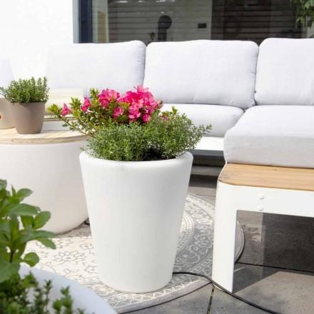 Svítící váza pro exteriéry a interiéry, barevný design ve 3 rozměrech - Vasostar