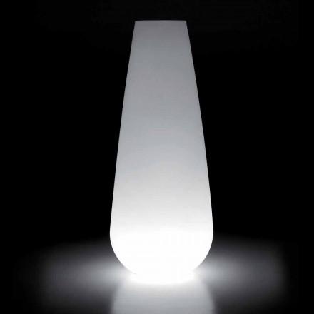 Světelná váza pro venkovní design z polyethylenu vyrobená v Itálii - Menea