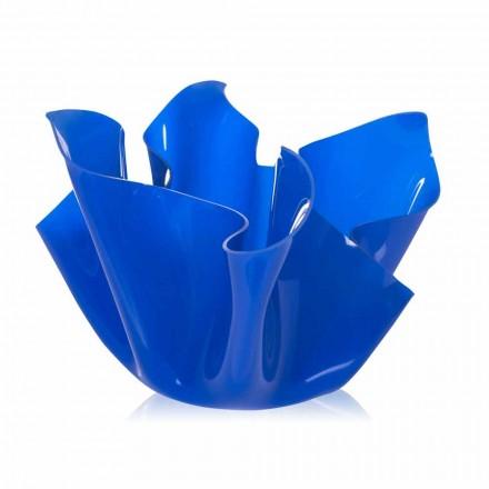 Outdoor Multipurpose Vessel / vnitřní Pina modrá, moderní design, vyrobeno v Itálii