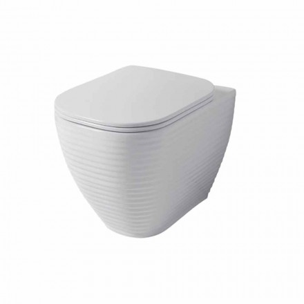 Designová váza v bílé nebo barevné keramice Trabia