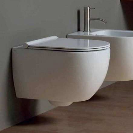 Závěsná WC v moderním designu keramických hvězda 50x35 Made in Italy