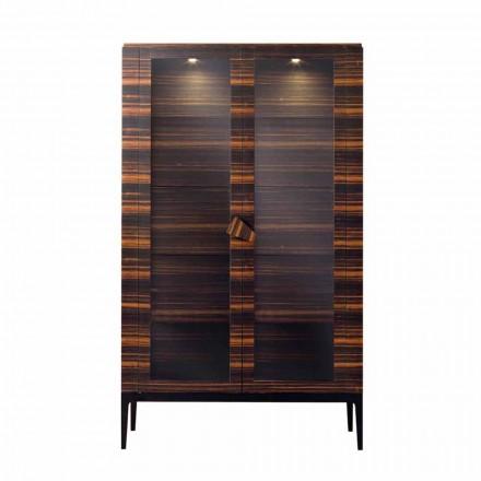 Grilli Zarafa masivní dřevěná skříň se 2 dveřmi vyrobená v designu Itálie