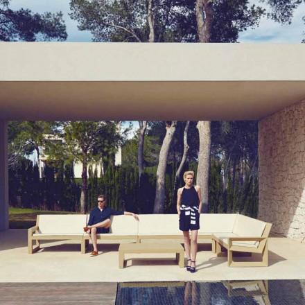 Moderní zahradní salonek Vondom Frame v polyethylenové pryskyřici