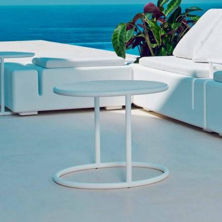 Vondom Kes kulatý ocelový zahradní stůl, moderní design