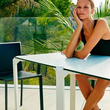 Vondom Quartz čtvercový zahradní stůl, moderní design, 2 kusy
