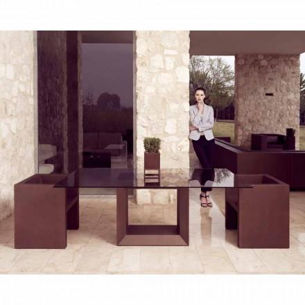 Vondom Vela moderní designové zahradní křeslo, bronzová úprava