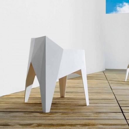 Moderní zahradní židle Vondom Voxel z polyethylenu, 4 kusy