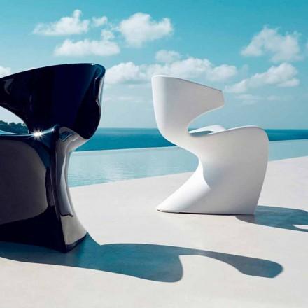 Designová zahradní židle Vondom Wing v polyetylenu L50xD56xH74 cm